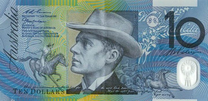 Australia announces new ten dollar bank note